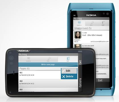 WordPress for Nokia Phone