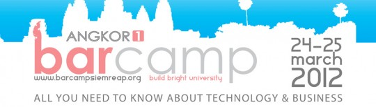 First Barcamp in Siem Reap