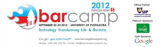Barcamp Phnom Penh 2012, 22-23 September